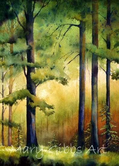 Fall River Ford >> Landscapes | Mary Gibbs Art