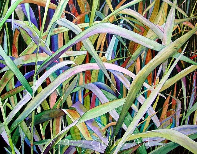 Leaves Mary Gibbs Art